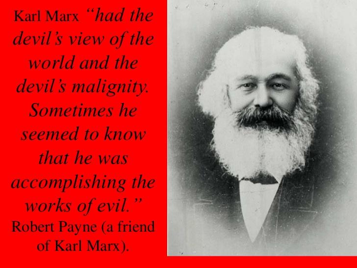 MarxDevilsWorldview