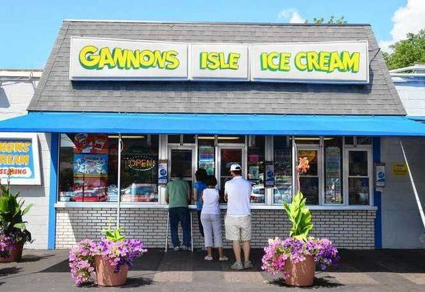 gannon's isle ice cream stand