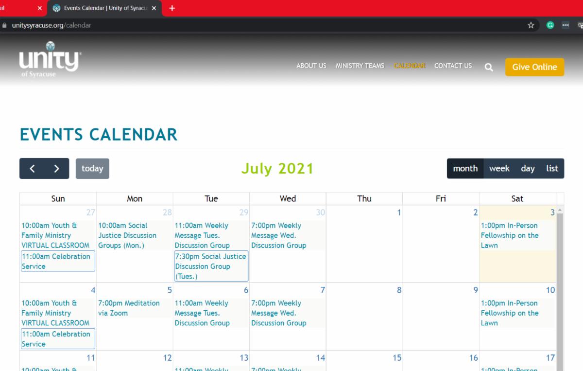 unity.org 2021 calendar page july