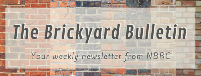 Brickyard Bulletin is the weekly newsletter from the National Brick Research Center