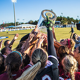 The UofSC women's soccer team won the Southeastern Conference championship in 2019.