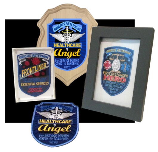 Covid Frontline worker appreciation patches