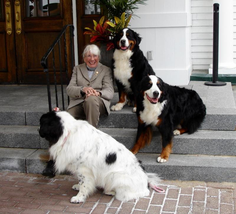 Nancy Gray with friends