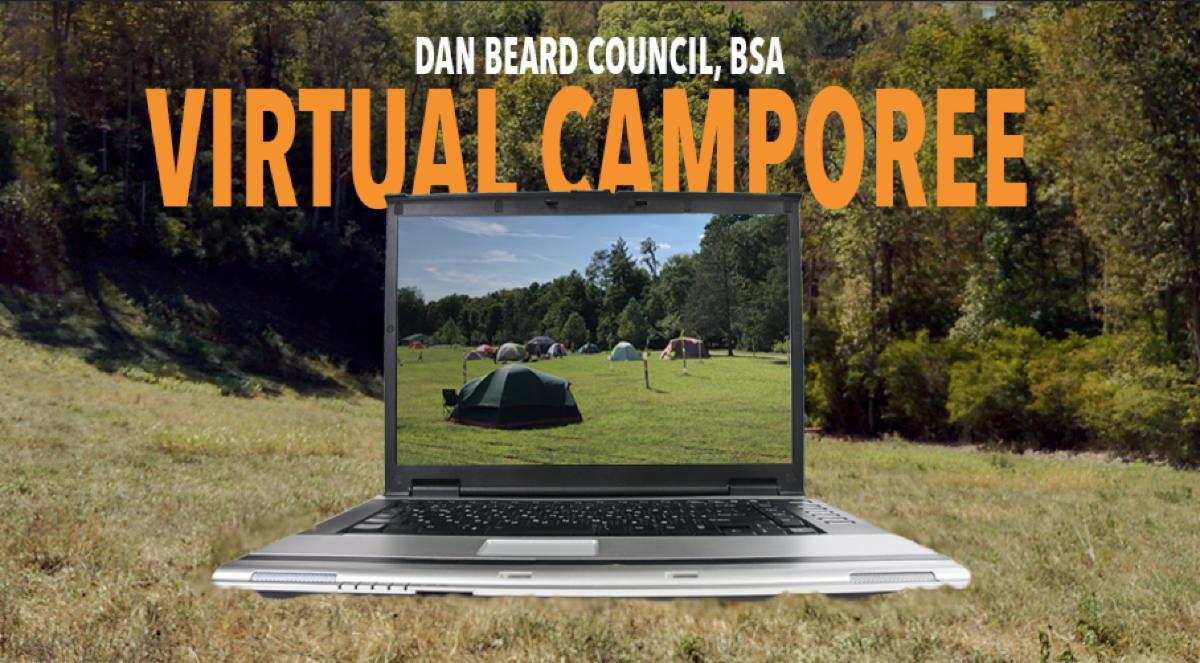 Virtual Camporee Graphic