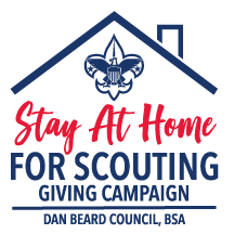 Stay At Home for Scouting Giving Campaign