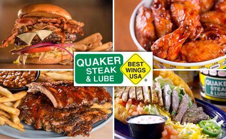Quaker Steak & Lube Food