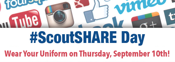 ScoutSHARE Day Sept 10