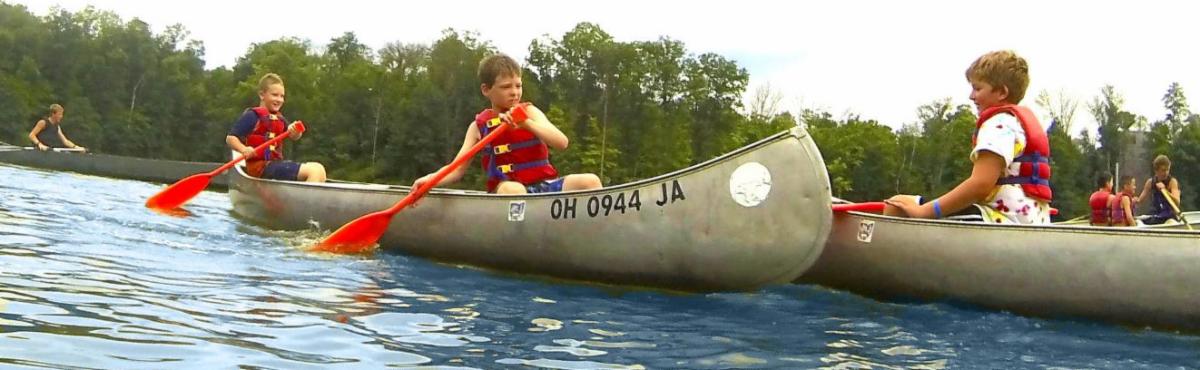 scouts canoe