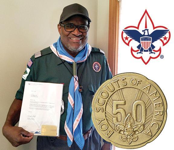 Gregory Lundy 50 Year Veteran Award