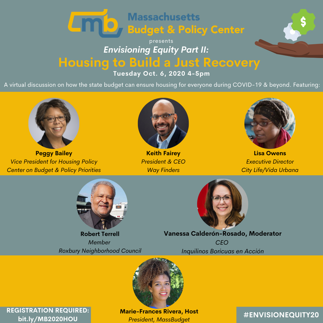 """RSVP for """"Housing to Build a Just Recovery,"""""""