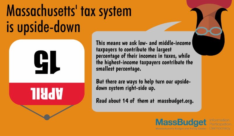What are ways to help turn our tax system right-side up?