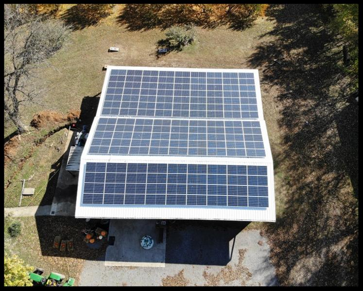 LightWave Solar installed solar for Breendens Orchard.