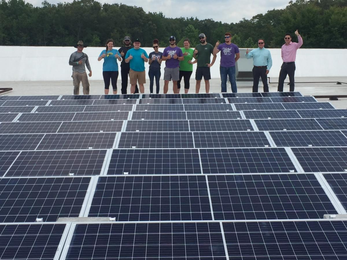 Solar at Manchester Coffee County Conference Center