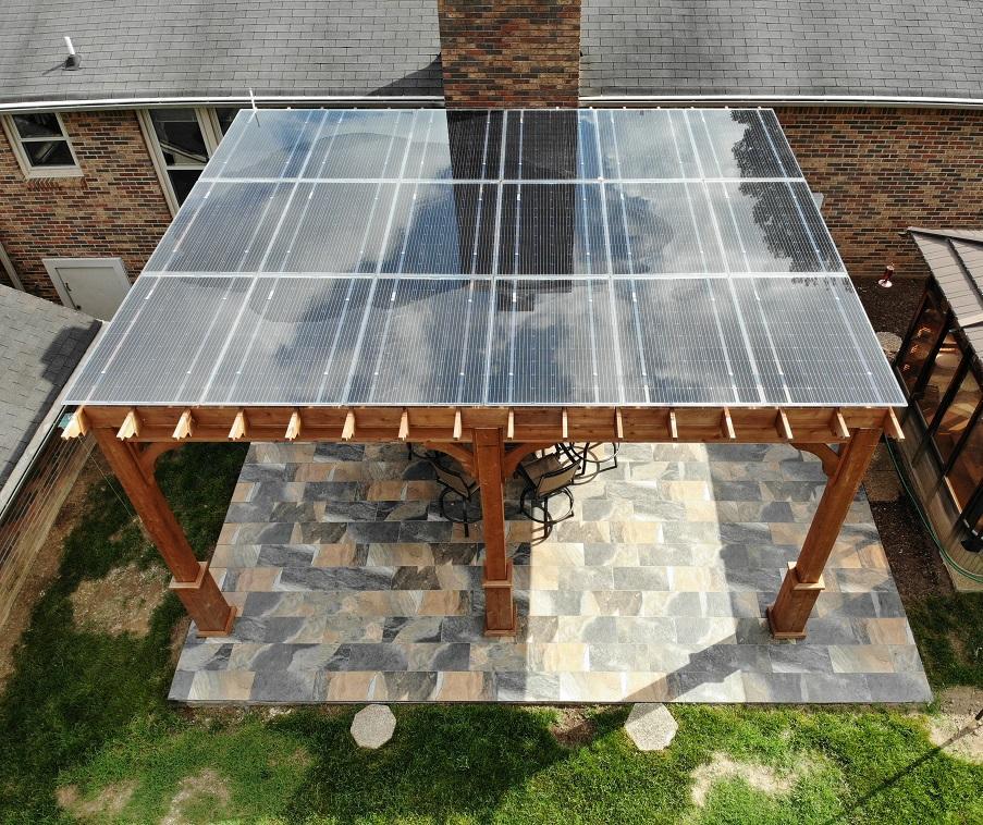 Lumos solar panels installed by LightWave Solar
