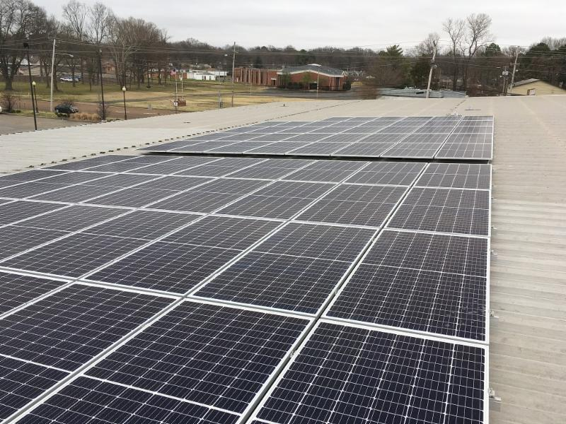 DirectFX solar panels in Southaven Mississippi