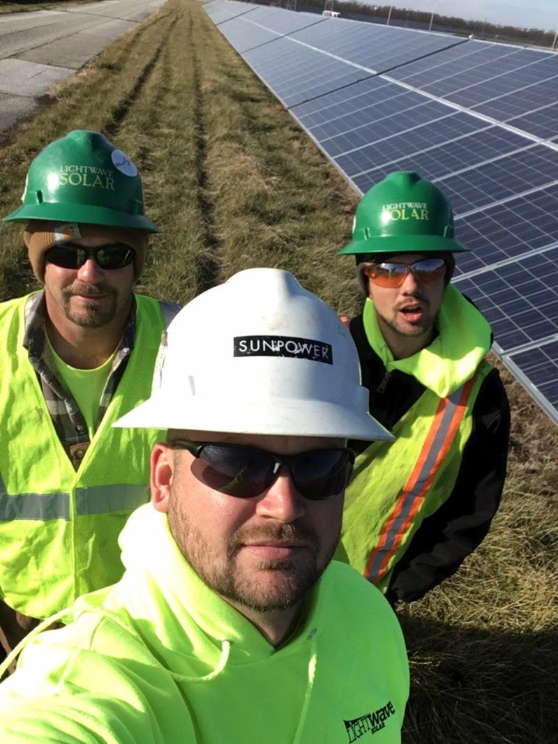 LightWave Solar installers