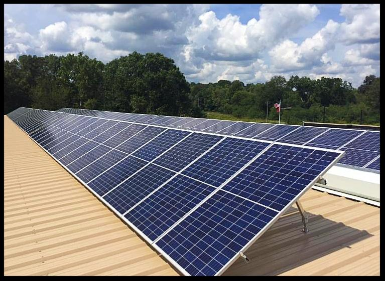 LightWave Solar installed solar panels for Hickman County in Tennessee