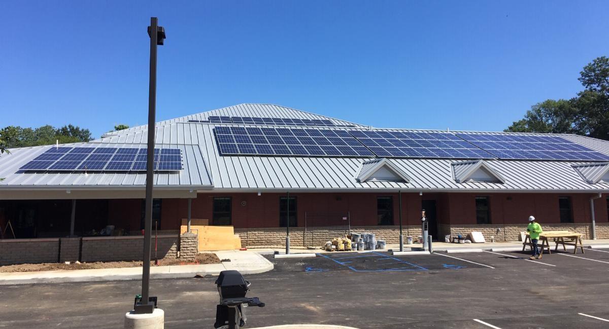 LightWave Solar installed solar panels at NFD in Bellevue TN