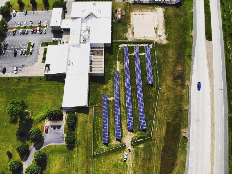 LightWave Solar and Seal Solar installed solar system for Jefferson County Arkansas