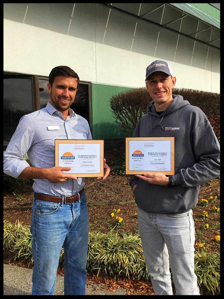 LightWave Solar NABCEP certificate holders