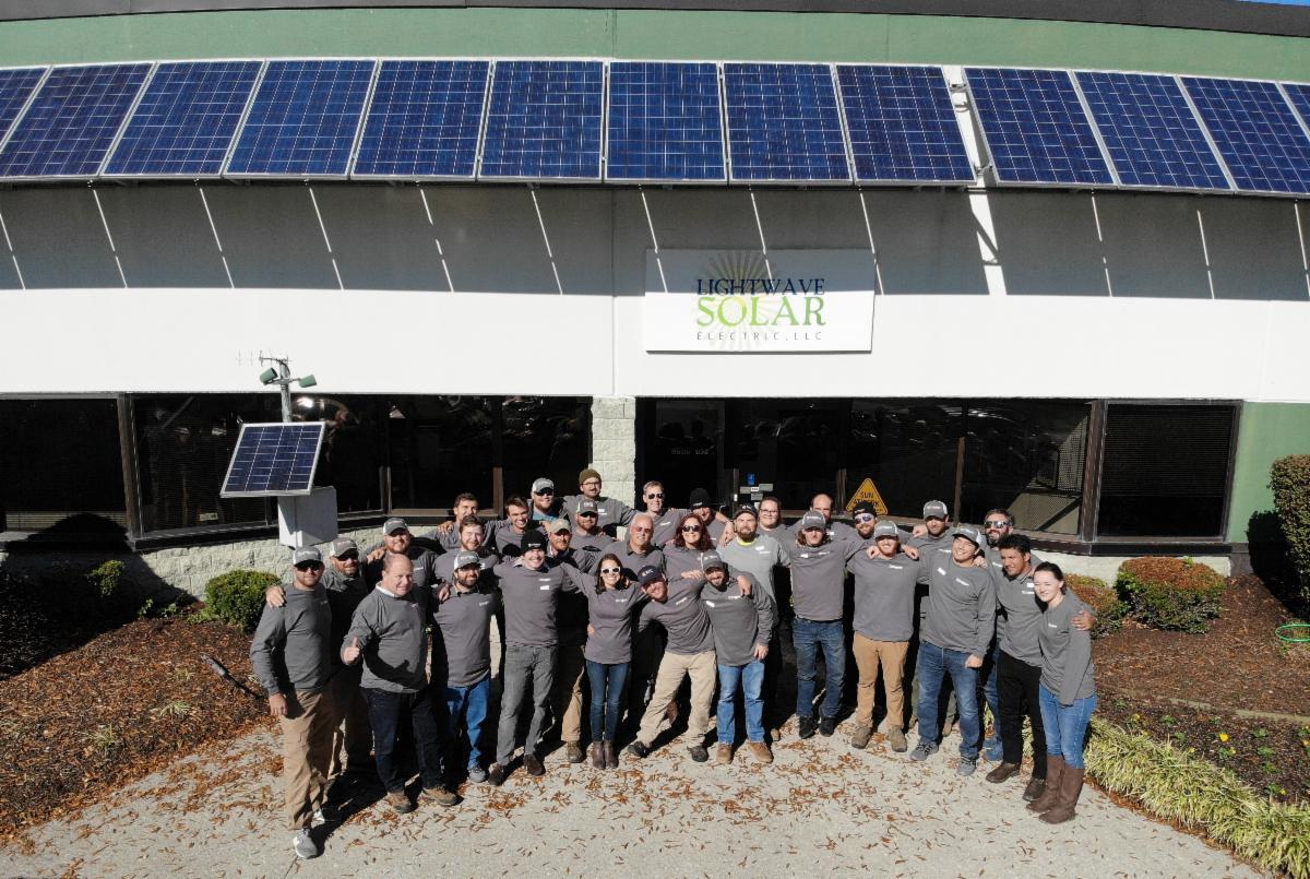 LightWave Solar team