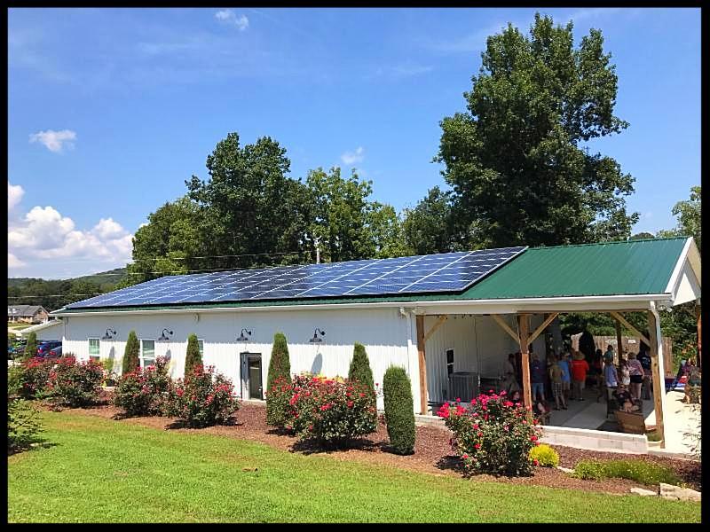 solar at Cellar 53 Winery