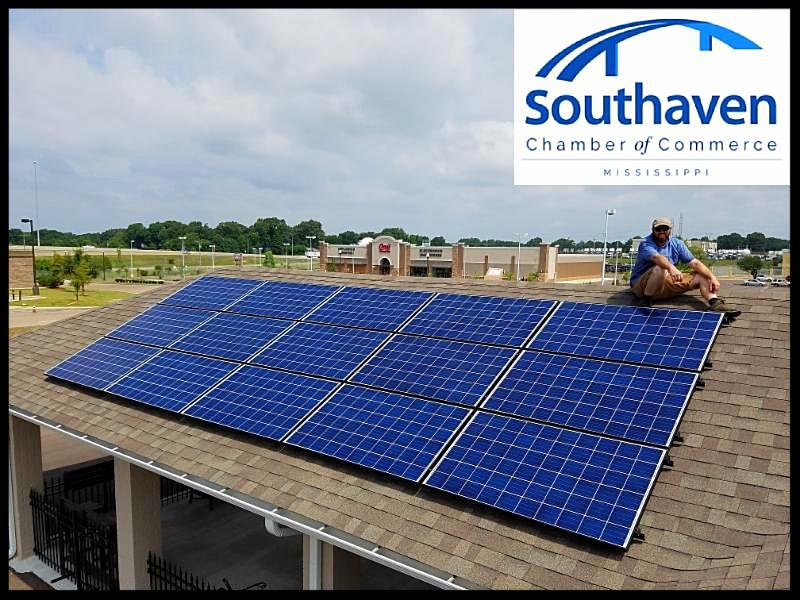 Southaven Mississippi Chamber of Commerce solar panels