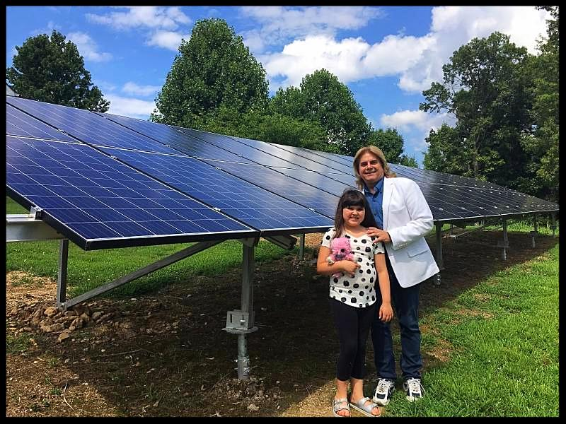 Solar at home in Hendersonville Tennessee