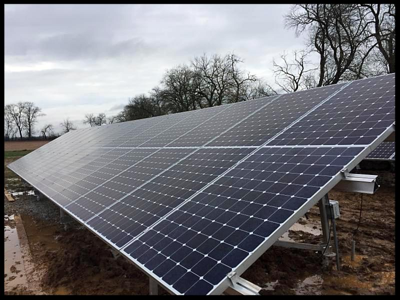 Solar residence in Hopkinsville, KY