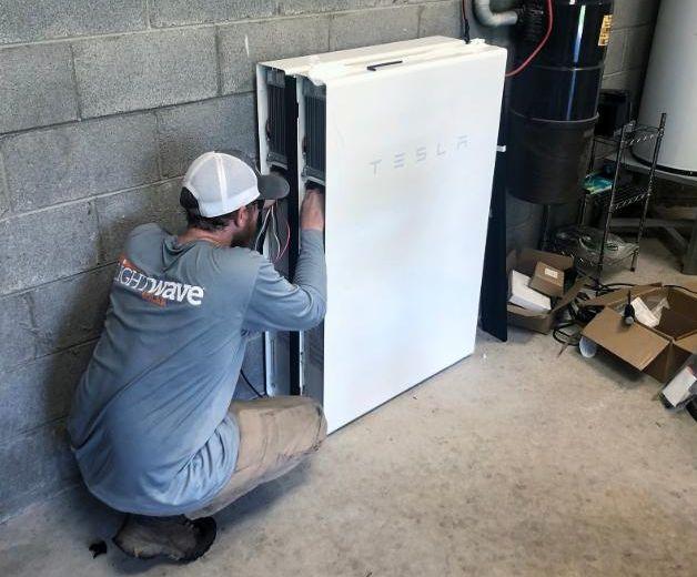 LightWave Solar installed 10kW solar and Tesla Powerwalls at home in Nashville
