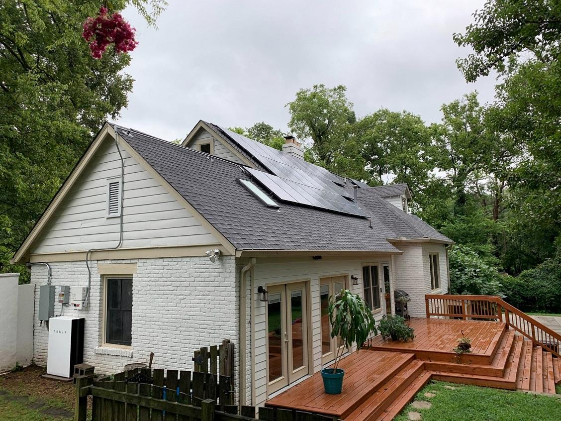 Solar and Powerwall System installed by LightWave Solar