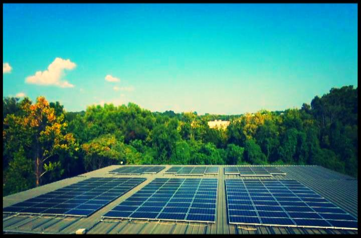 Solar panels at Automation Nth in LaVergne, TN