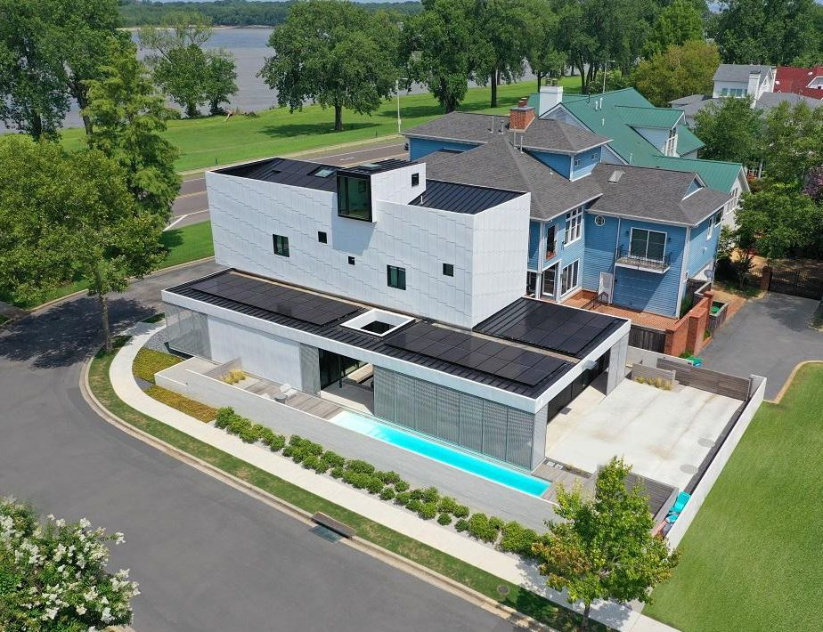 Solar at archimania home in Memphis Tennessee
