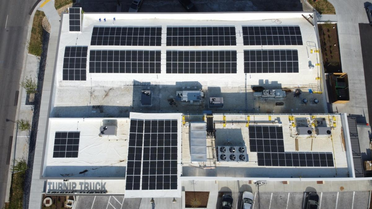 LightWave Solar at Turnip Truck