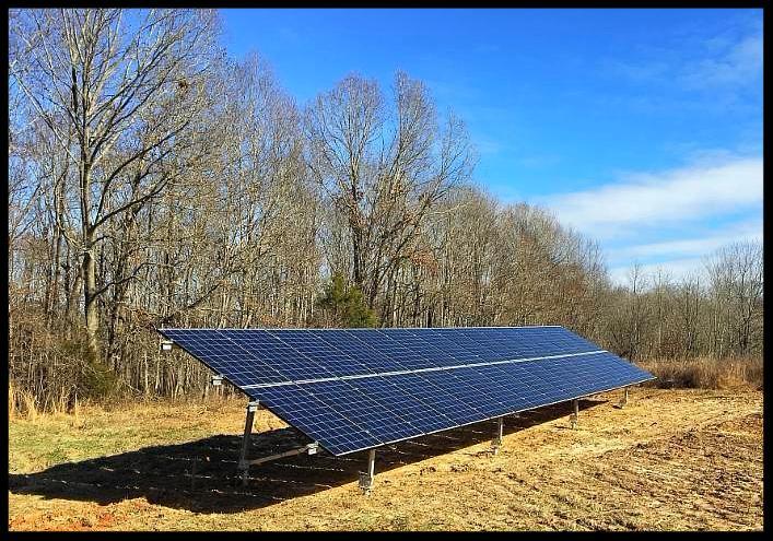 Residential solar installation by LightWave Solar