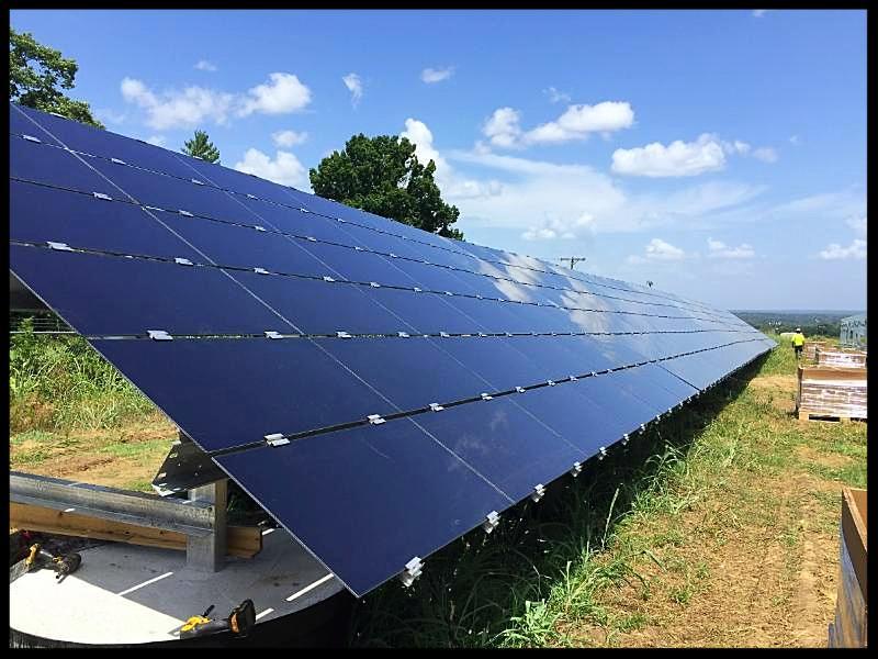 Music City Solar panels