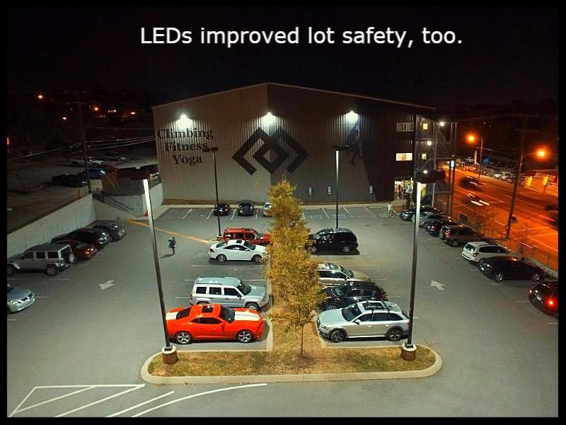 Climb Nashville LEDs