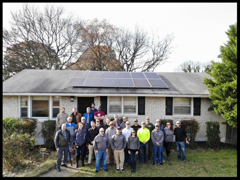 LightWave Solar team members