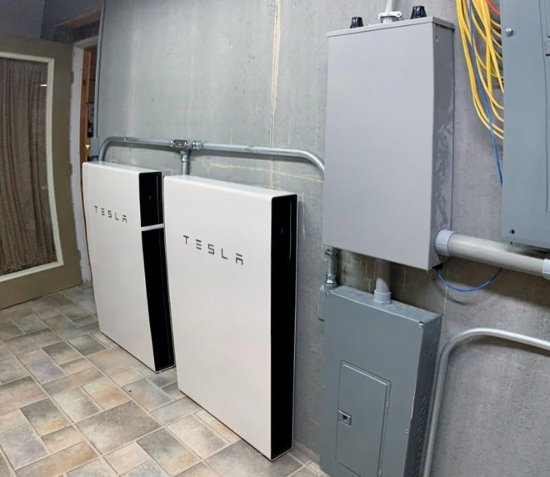 LightWave Solar installed a solar and Tesla Powerwall system at home in Kentucky