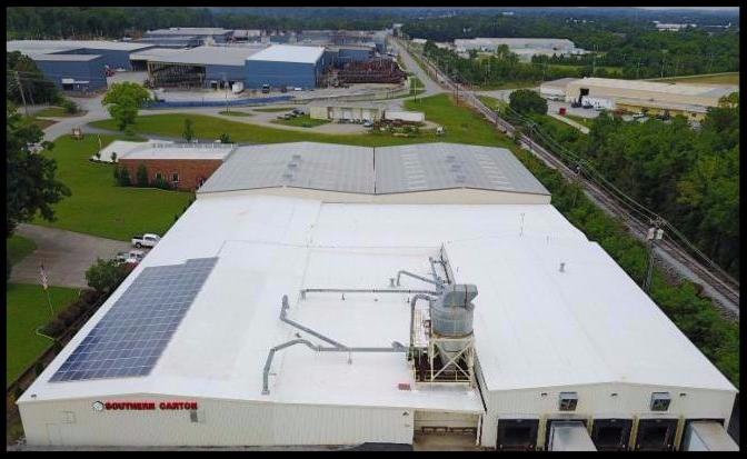 LightWave Solar at Southern Carton