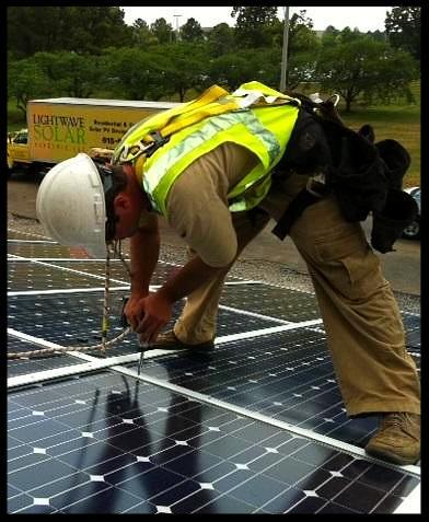 LightWave Solar installer
