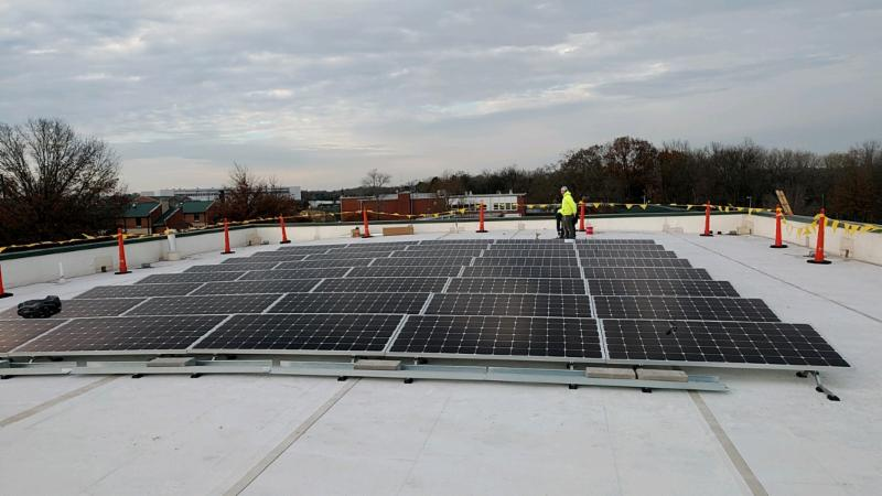 TN Air National Guard Solar in Smyrna Tennessee
