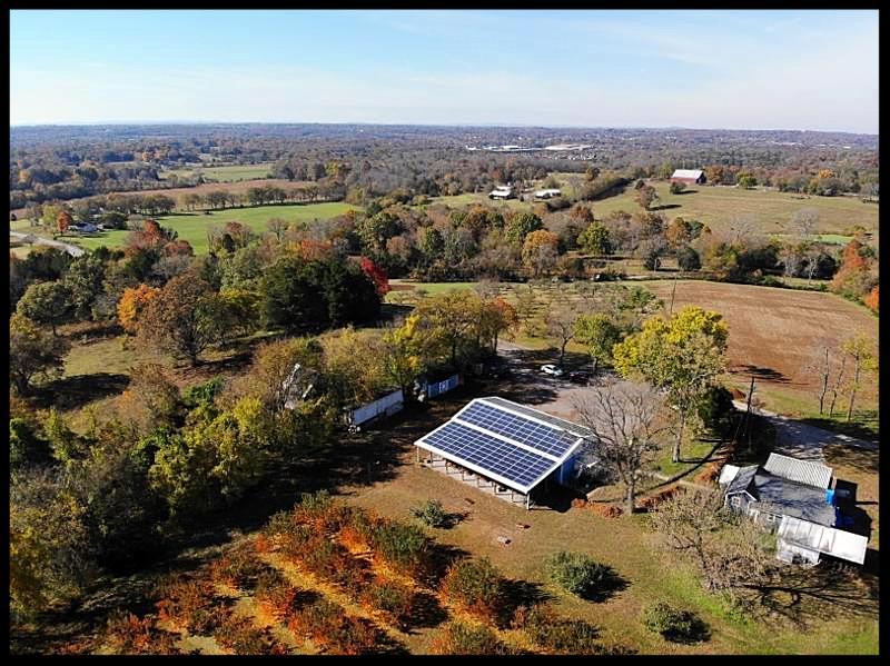 LightWave Solar installed solar panels at Breeden's Orchard