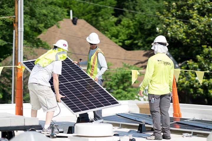 LightWave Solar installed 50kW solar array at archimania in Memphis TN