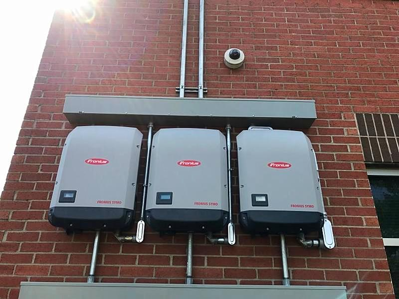 LightWave Solar installed solar inverters for Hickman County Tennessee