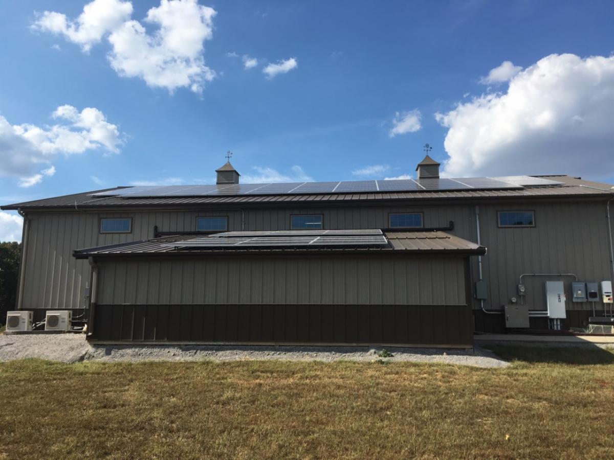 LightWave Solar installed solar and Tesla Powerwall system in Franklin TN