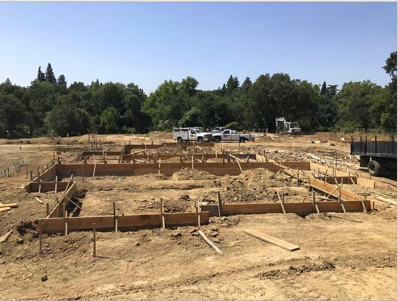Construction site June 2018