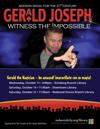 Magician Gerald Joseph
