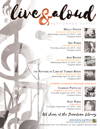 Live and Aloud 2019 Performer Series