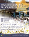 Redwood Shores Branch Library 10th Anniversary Celebration
